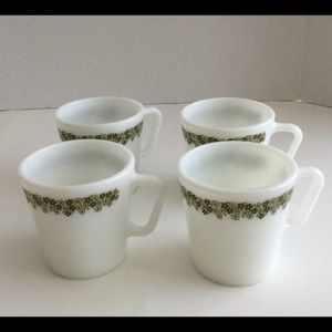Corelle pyrex spring bloosom cups